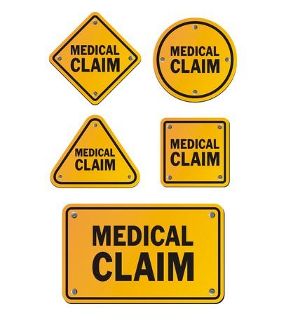 medical signs: medical claim signs
