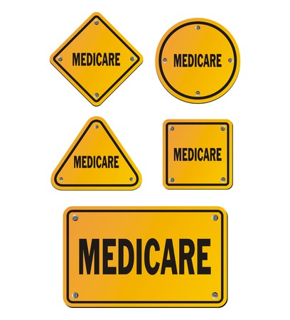 medicare: medicare yellow signs