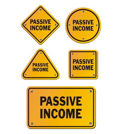 earn more: passive income signs