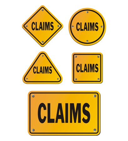 claims yellow signs