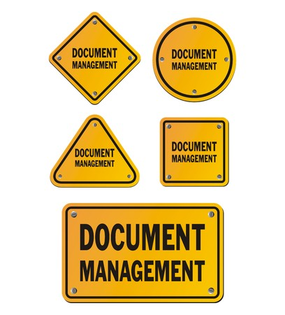 record: document management signs