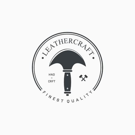 leathercraft labels, emblems and design elements