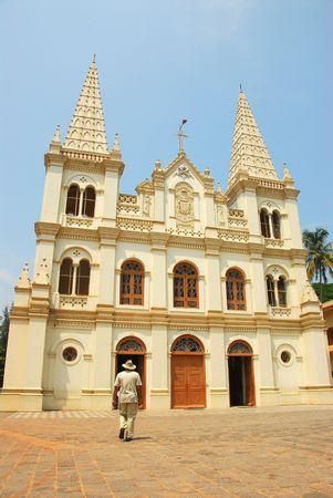 Santa Cruz Baslica, Fort Kochi (Cochin), Kerala, India built in 1505