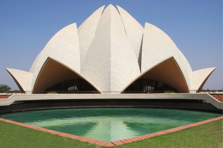 lotus temple: Delhi - Lotus Temple
