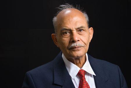A portrait of an East Indian businessman