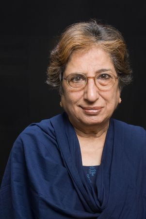 A portrait of a senior Asian woman Stock Photo