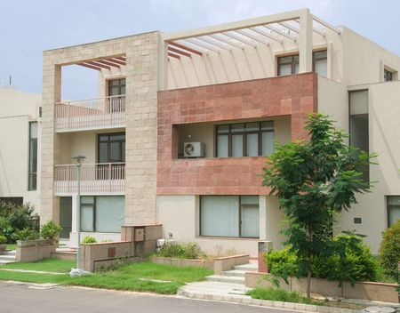 Exterior of modern luxury Villas