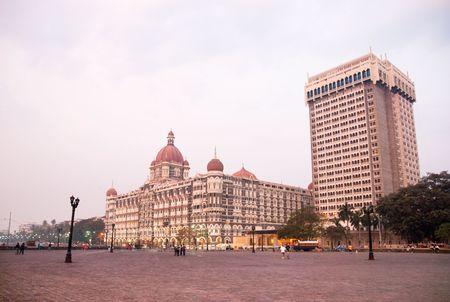 A view of downtown Mumbai (Bombay), India