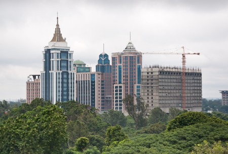 A view of downtown Bangalore