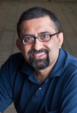 Portrait of an Indian man photo