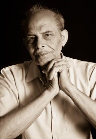 A portrait of a senior Indian man Stock Photo - 7703924