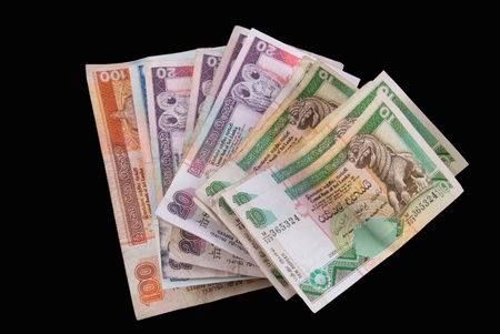Sri Lanka Currency - Rupee - Isolated Stock Photo - 10664765