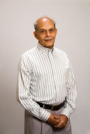 A senior East Indian man Banco de Imagens