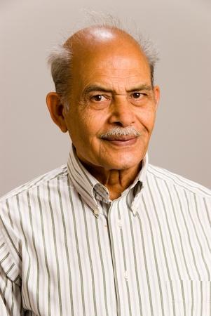 A portrait of a senior East Asian man