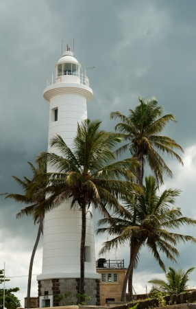 The lighthouse in Fort Galle, Sri Lanka