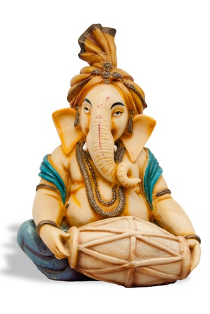 god figure: A statue of Lord Ganesha, the beloved Hindu god Stock Photo