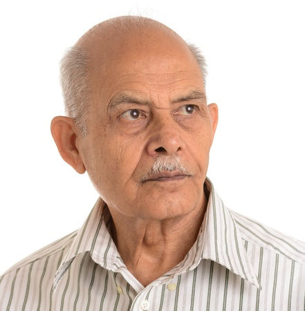 Senior Indian man photo