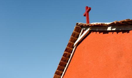 colonial church: An old British era colonial church in Asia
