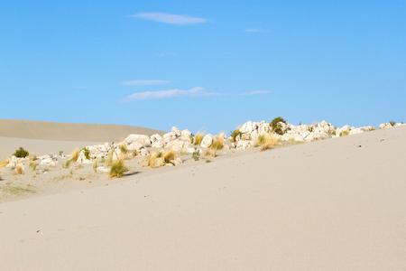 desert sand: Beautiful scenery sandy Patara in Turkey. Sand and sky.