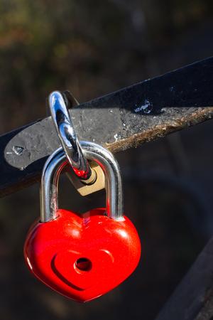 linked: heart lock in love
