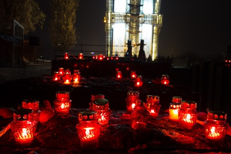 National Museum Holodomor victims Memoriall or Commemoration Stockfoto