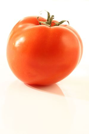 desirable: Very juicy tomato lays and it would be desirable it to eat Stock Photo