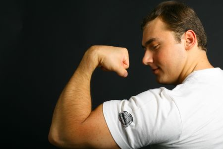 strong: Strong man Stock Photo