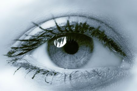 dilate: very beauty glamour girl eye