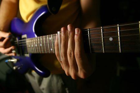 solo guitarist Stock Photo - 2529003