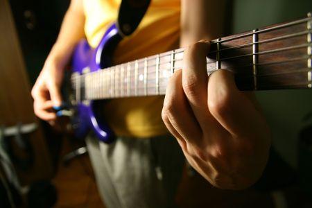 solo guitarist Stock Photo - 2554147