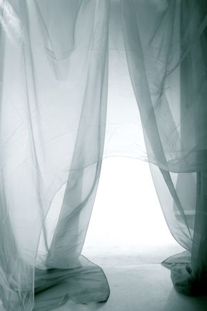 fabric abstract material background light  Stock Photo