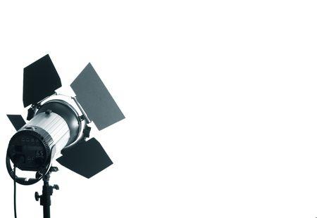 siluet: studio light siluet isolated only white