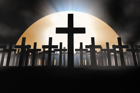 holy cross 3d abstract religion concept Stock Photo - 2670801