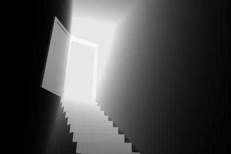 light door to the new world 3d photo