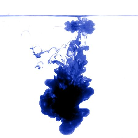 abstract ink background flow in water