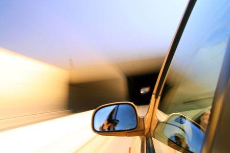 faster: speed drive blurred transportation