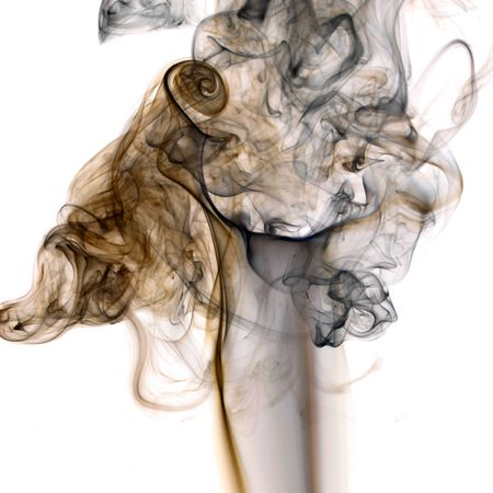 brown smoke abstract background close up photo