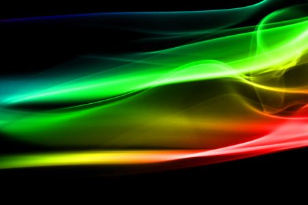 colored smoke abstract background close up Stock Photo - 3265170