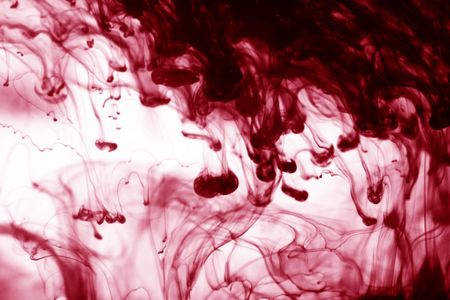 abstract ink background flow in water  photo