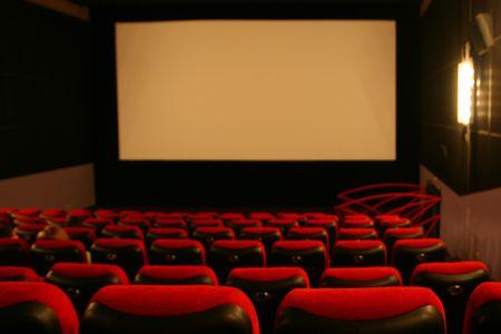 cinta pelicula: oscuridad pantalla de cine la pel�cula de rendimiento