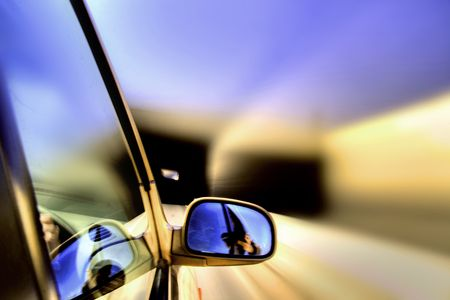 faster: speed drive blurred transportation background