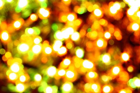 holiday card golden champagne and gift Stock Photo - 3848850