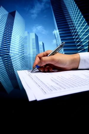 realtor professional presentation business background Stock Photo - 4324603