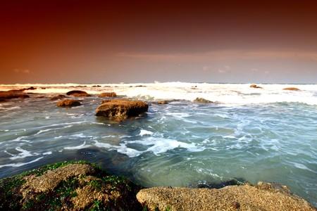 Reef stones an ocean water Stock Photo - 4324887
