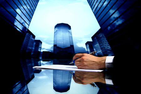 professional presentation business background Stock Photo - 4718696