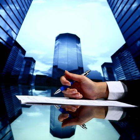 realtor professional presentation business background Stock Photo - 4975929