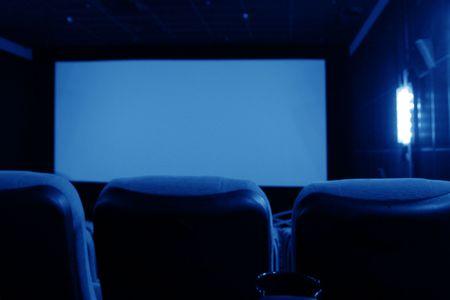 darkness cinema screen movie performance Stock Photo - 4996044