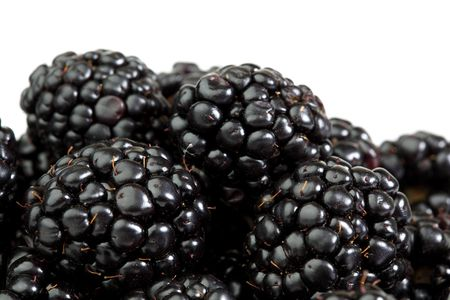 flavorful: blackberry background macro close up