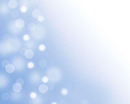 la lumière bleue de fond de près