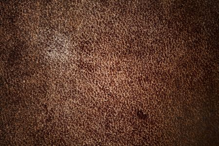 mottled skin: leather background macro close up
